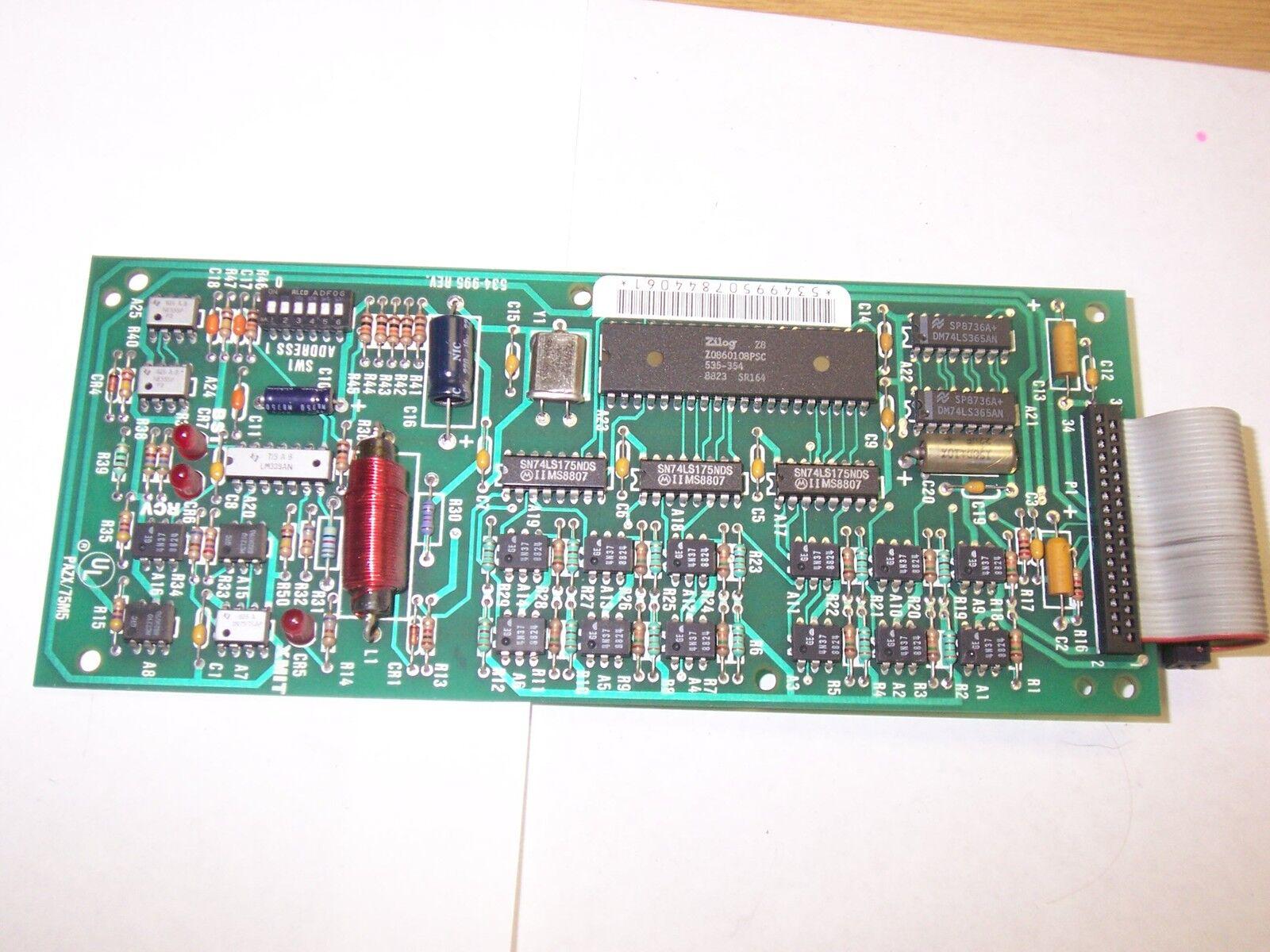 Siemens, Landis & Gyr SCU 600 534-995 534-995 534-995 53499 5 circuito De Control Board Tarjeta 56475c