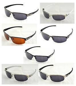 36c7ebebc0 Image is loading X-Loop-Polarized-Half-Frame-Sunglasses-Great-Driving-