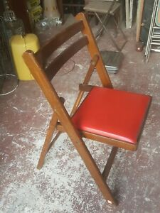 Terrific Details About Vintage Nevco Furniture Wooden Folding Chair Childrens Good Conditions Onthecornerstone Fun Painted Chair Ideas Images Onthecornerstoneorg