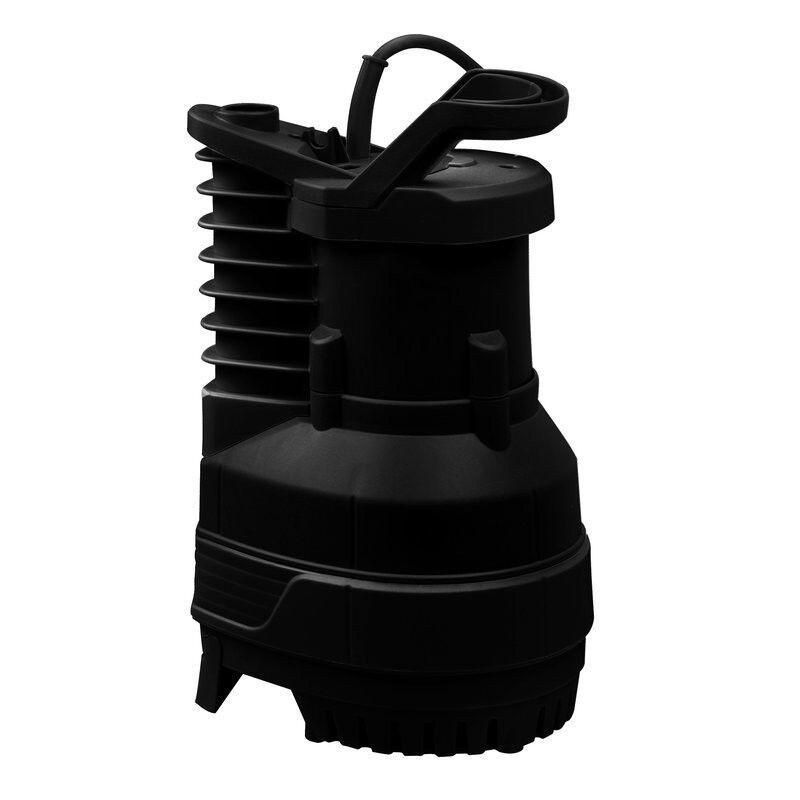 RP Hochdrucktauchpumpe 5000l h 2,0 Bar Gartenpumpe Klarwasser Pumpe Grow Anzucht