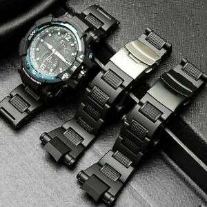 Edelstahl-Armband-Metall-Armband-Uhr-Armband-Ersetzen-G-schock-fuer-Casio-D1-I0E1