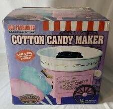 Old Fashioned Electric Cotton Candy Machine Carnival Maker Party Nostalgia New