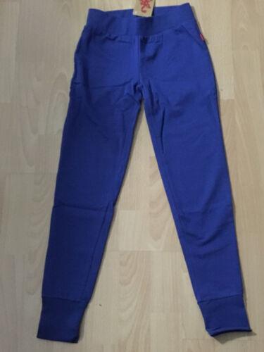 Top Bambini sweatleggings Jogging Pantaloni Blu di CFL taglia 146 NUOVO