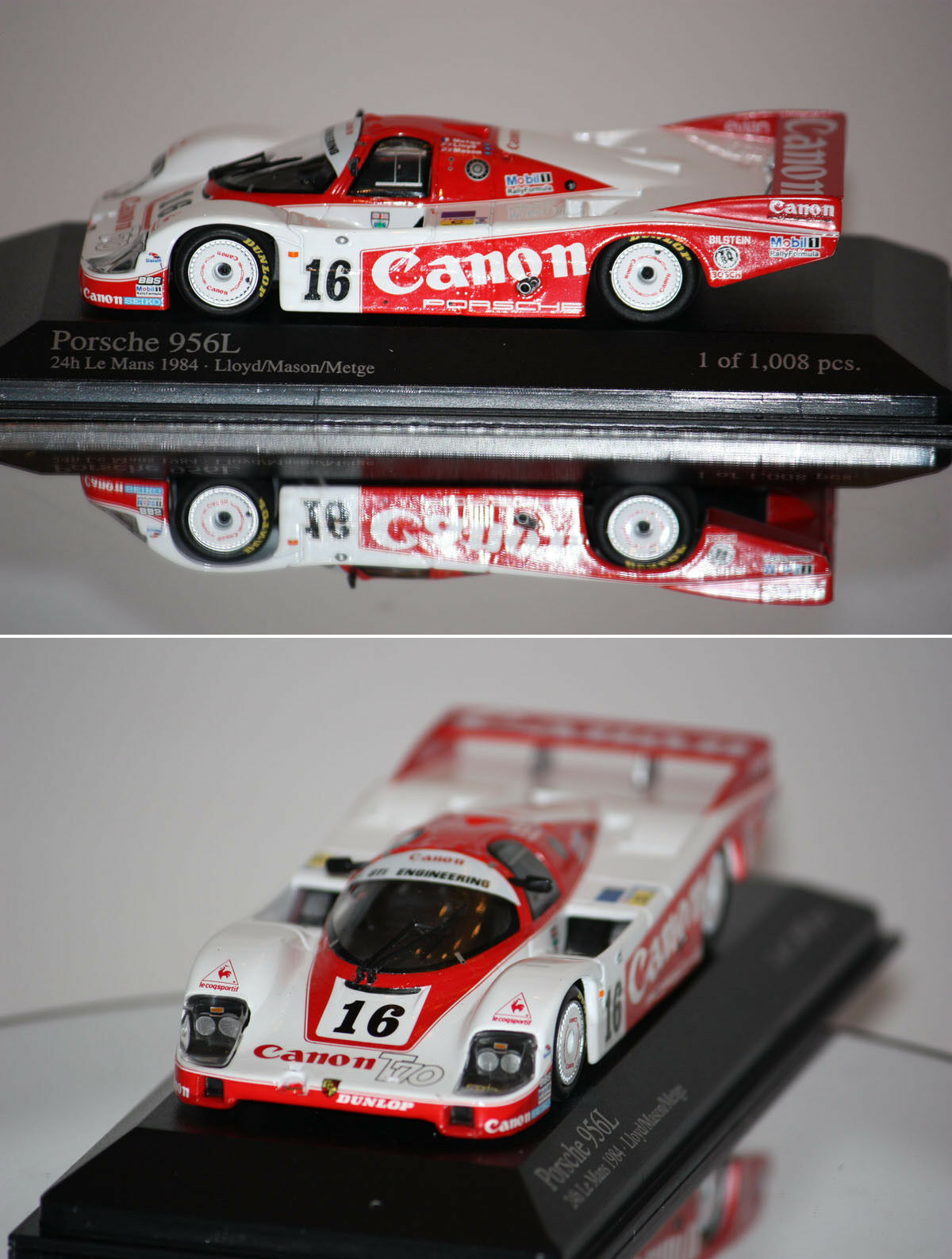 Minichamps Porsche 956L 24h du Mans 1984 1 43 430846516