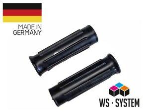2-x-Universal-Schubkarrengriff-Griff-Schubkarre-Sackkarre-30mm-Schwarz-Neu