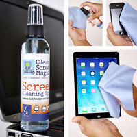 Screen Cleaning Kit for LCD, LED & Plasma TV/Tablet/Laptop/Computer