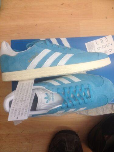 p Size 74 Gazelle Originals 7 Eccellente r £ New Adidas 99 R Turquoise scatola con qtAv88fW