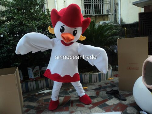 Pigeon Bird Adult Mascot Costume Fancy Dress Outfit Halloween Easter UK