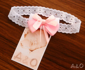 Baby Baby Haarband Stirnband Photoshooting Ab 0mon Erstlingshaarband Haarschmuck Weiß Accessoires