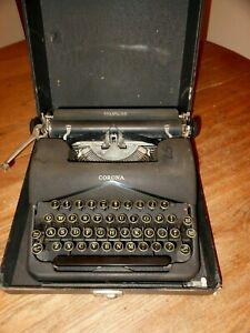 Vintage 1939 Smith Corona Standard 2C Floating Shift Typewriter