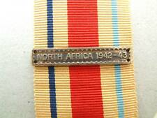 WW2 BRITISH NORTH AFRICA 1942 BAR CLASP AFRICA STAR MEDAL RIBBON COMMONWEALTH