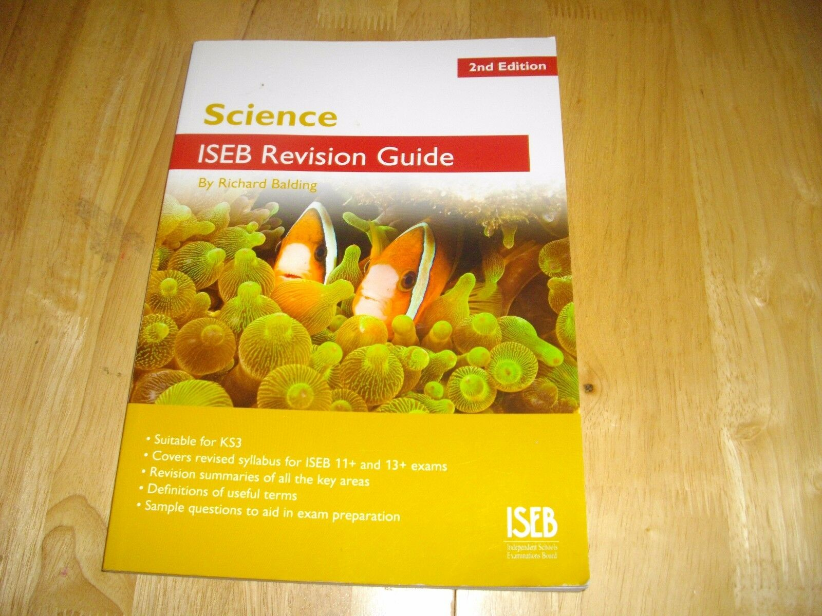 Science ISEB Revision Guide: A Revision Book for Common Entrance by Richard  Balding (Paperback, 2011) | eBay