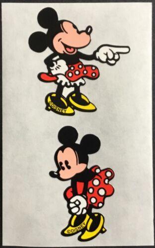 Minnie Mouse Mrs Grossman Mint Condition!! Vintage Disney Stickers