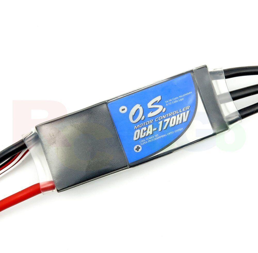 O.S. Engines OCA-170HV 70A 4-12S Li-Po Brushless high-volt OPTO ESC   OS52012070