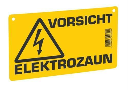 AKO Warnschild Vorsicht Elektrozaun 44620
