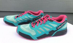 code promo 290e2 6817b Details about Salomon City Cross Aero Women's Trail Running Shoes Size US 6