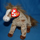 Ty Beanie Baby Filly The Horse With Tag Retired DOB July 16th 2002