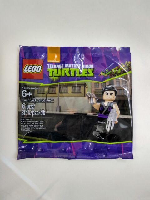 LEGO 5002127 Nickelodeon, TMNT 'Flashback Shredder' - Brand New Sealed Polybag