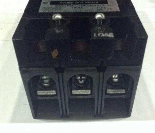 TFK236Y225 General Electric GE Type TFK Molded Case Switch 3 Pole 225 Amp 600V