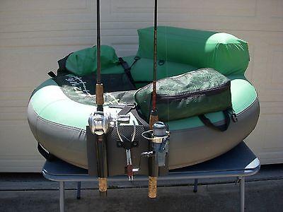 CASTING FLOAT TUBE ADJUSTABLE FISHING ROD//POLE HOLDER FOR SPINNING FLY RODS
