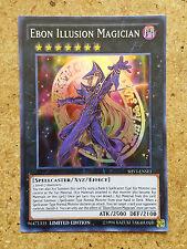 Yugioh SHVI-ENSE1 Ebon Illusion Magician Super Rare - Limited Edition