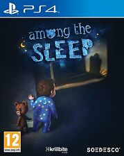 Among the sleep (PS4) BRAND NEW SEALED PLAYSTATION 4
