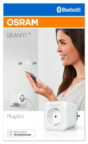 OSRAM Smart Plug kompatibel mit Apple HomeKit Bluethooth schaltbare Steckdose