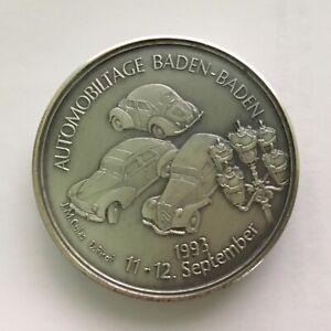 Automobiltage Baden-baden 1993 11.-12 Septembre.-afficher Le Titre D'origine