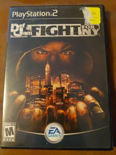 Def Jam: Fight for NY PlayStation 2 Complete Black Label Tested Rare PS2 Game