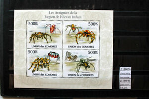 STAMPS-COLONIES-FRANCE-UNION-DE-COMORES-SPIDER-YVERT-N-1943-46-MNH-F120639