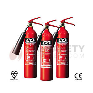 NEW-x3-2-KG-CO2-CARBON-DIOXIDE-FIRE-EXTINGUISHER-FOR-HOME-OFFICE