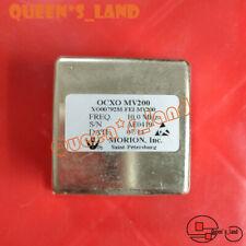 1 Morion Mv200 10mhz 5151mm 12v Sine Wave Ocxo Crystal Oscillator