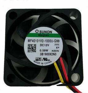 Sunon-MF40101V2-1000U-G99-40mm-x-40mm-x-10mm-Vapo-Bearing-Fan-3Pin
