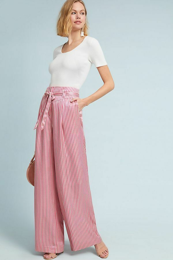 168  Anthropologie Ventura Wide-Leg Trousers   size 12 new