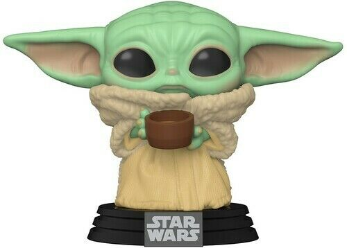 Funko Pop! Star Wars Mandalorian: - The Child W/ Cup 889698499330 (Toy Used)