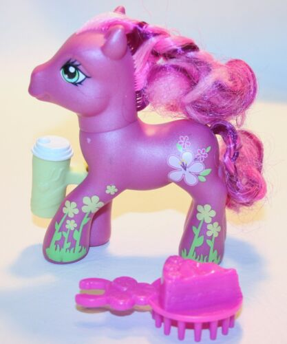 My Little Pony Cheerilee 2 G3 Hasbro Daisy Design Accesories Cup Brush