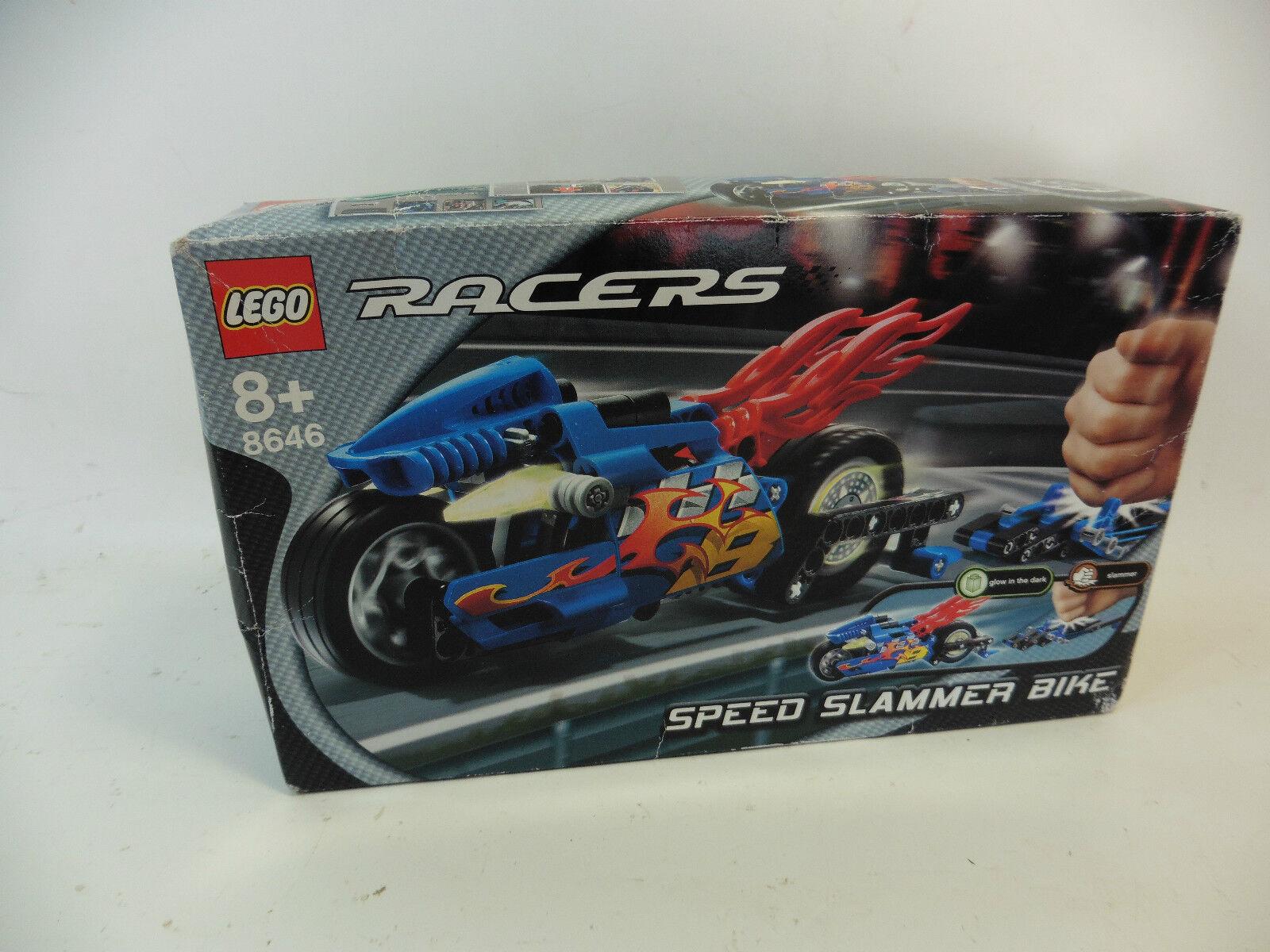 LEGO 8646 SPEED SLAMMER BIKE IN BOX