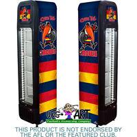 Adelaide Football Club Official Weg Art Crows Skinny Glass Door Upright Fridge