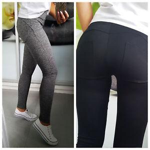 Women-Leggings-Trousers-Push-Up-Fitness-Good-Quality-NEW-6-8-10-12-14
