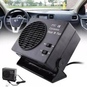 12V-150W-300W-Auto-Riscaldamento-Riscaldante-Termostato-Ventola