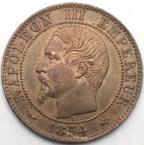 France-Napoleon-III-5-centimes-1854-A-bronze-1101