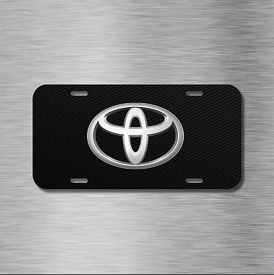 Toyota Vehicle Front License Plate Auto Car New Camry 86