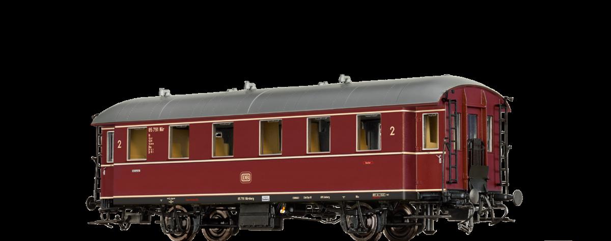 III   Neuware Brawa H0 45540 Ep Einheits-Nebenbahnwagen Civ-33 der DB