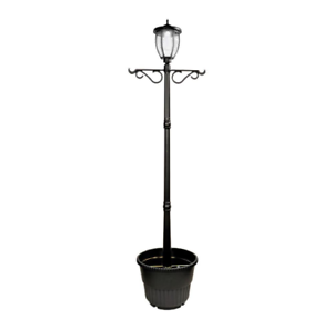 Details About Lamp Post Planter Solar Ed Outdoor Lighting Led Durable Portable Decorative