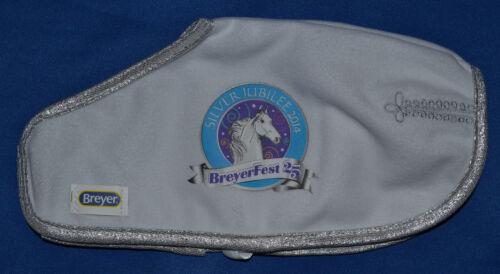 Breyer~Breyerfest~2014~25th Anniversary Silver Jubilee Blanket~NEW~RARE!