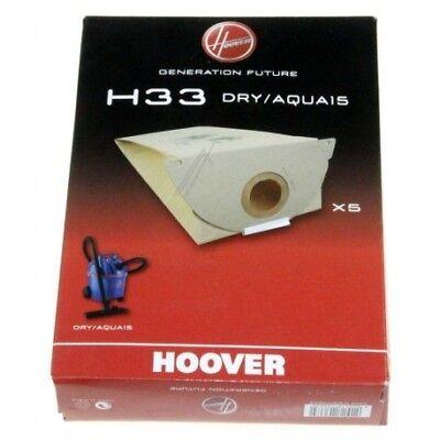 HOOVER H33 SACCHI SACCHETTI 5 PZ ASPIRATORE ASPIRAPOLVERE ORIGINALE 09177643
