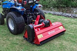 Details about WFL125 - Winton Heavy Duty Flail Mower - 1 25m Wide - For  Compact Tractors