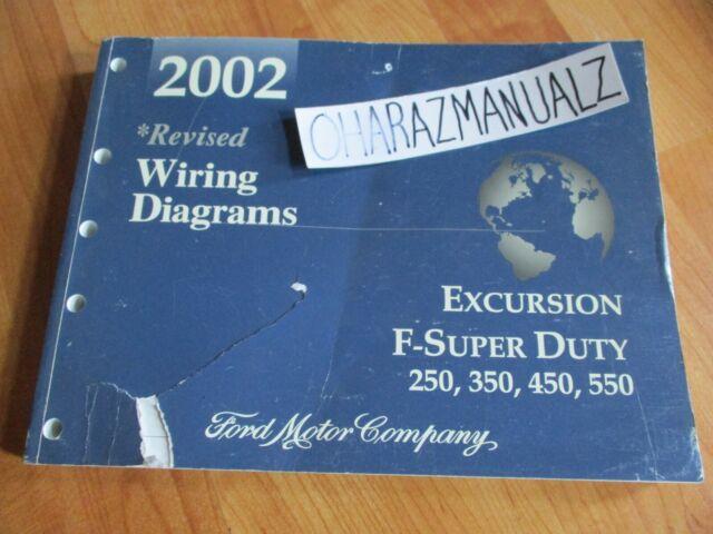 2002 Ford Excursion F250 350 450 550 Super Duty Wiring