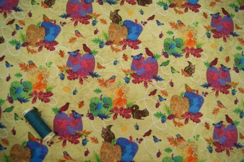 Craft AUTUMN HUES Cotton Fabrics By Studio e Fabrics Quilting Dressmaking
