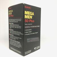 Gnc Mega Men 50 Plus 120 Caplets Free Shipping